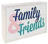 Family & Friends: Schild zum Aufstellen