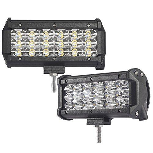254W 3-reihig LED Licht Bar, Arbeit Auto Scheinwerfer Flutlicht Strahler Outdoor Wasserdicht IP68SUV Off Road Boot fahren Beleuchtung, 12V 24V
