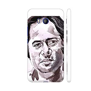 Colorpur HTC U11 Cover - Farooque Shaikh Printed Back Case