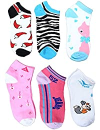 CAMEY Women's Combo Of 12 Ankle Socks (Multicolor)