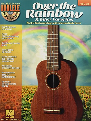 Ukulele Play-Along Volume 29: Over The Rainbow & Other Favorites (Book/Audio)