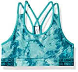 Under Armour Mädchen HeatGear Armour Novelty Sport Bra, Teal Punch, YXS