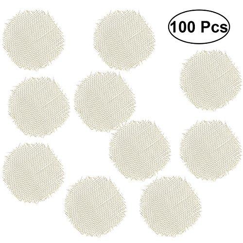Bestonzon, Edelstahl-Rauchfilter, 100 Stück, Siebe (Gold)