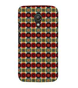 PrintVisa Designer Back Case Cover for Motorola Moto G2 :: Motorola Moto G (2nd Gen) (Girly Pattern Tribal Floral Fabric Culture Rajastan Andhra)