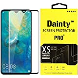 Dainty™ Full Glue Edge to Edge 6D Tempered Glass Screen Guard Gorilla Protector for Samsung Galaxy M30 (Black)