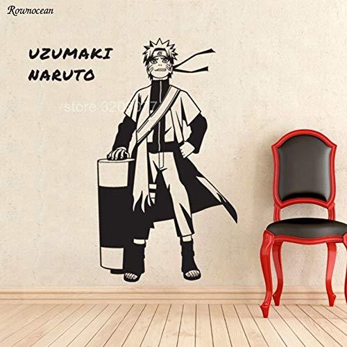 guijiumai Japanischen Anime Cartoon Wandaufkleber Whirlpool Wohnkultur Für Kinder Jungen Zimmer Schlafzimmer Abnehmbare Aufkleber Wandbild Tapete Rosa 85x99 cm -