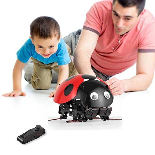 Profun RC DIY Marienkäfer Roboter Spielzeug Fernbedienung Insekt Spielzeug Imitieren Insect Movement