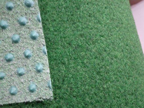 Schön Kunstrasen grün (4€/m²) mit Noppen 400 cm breite (500 x 400 cm  AU01
