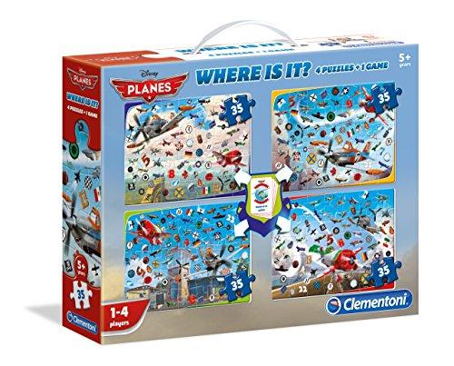 Clementoni - Puzzle Aviones Disney Aviones de 192 Piezas (Importado)