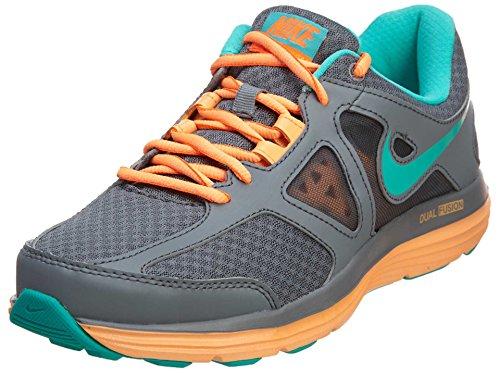 Nike benassi jdi, scarpe da spiaggia e piscina bambino, (gunsmoke/metallic silver 020), 36 eu