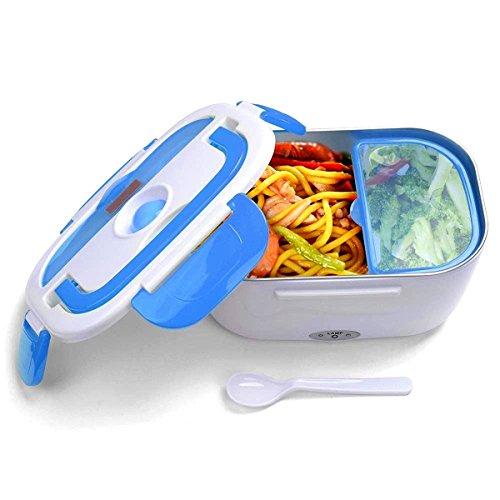 JOYOOO Boîte à lunch électrique détachable, boîte à lunch chauffée,Puissance anti-fuite amovible et doublure en acier inoxydable, facile à nettoyer 40 watts