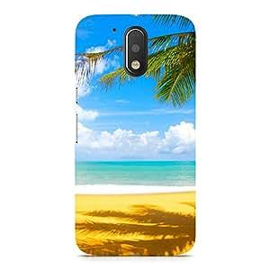 Hamee Designer Printed Hard Back Case Cover for HTC 10 Design 4834