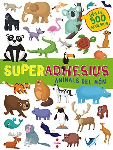 Animals del món (Superadhesius) por De Agostini Libri