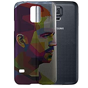 Digione Bloomfall Series semi transparent Hard Back cover for Samsung Galaxy S5 i9600