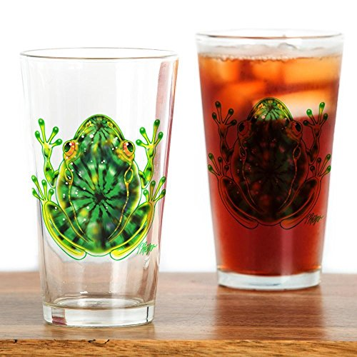 cafepress-tie-dye-green-frog-pint-glass-16-oz-drinking-glass