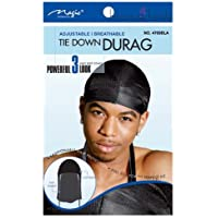 Magic Tie Down Durag No.4769BLA by Magic Collection