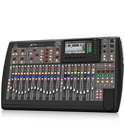 Behringer X32 mezclador DJ - Mezclador para DJ (24 Bit, 10 - 22000 Hz, 0,006%, 6,3 mm, 90 cm, 52,8 cm) Negro