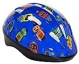 Capstone Toddler Helmet, Blue robot