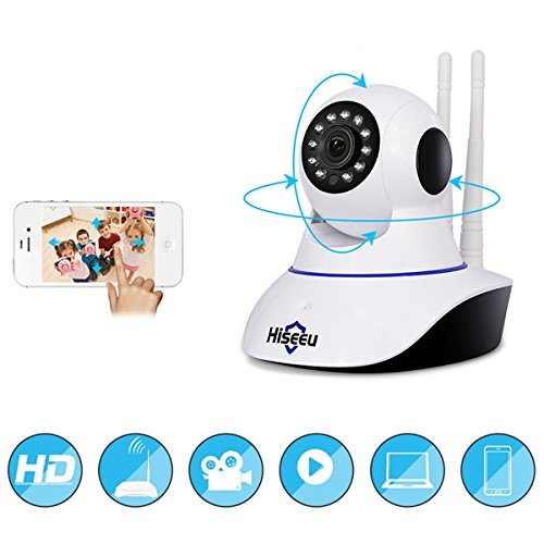 Generic Hiseeu FH1C 1080P IP Camera WiFi Home Security Surveillance Camera Night Vision CCTV Baby Monitor Adaptor EU Plug/Adaptor US/Adaptor UK/Adaptor AU/