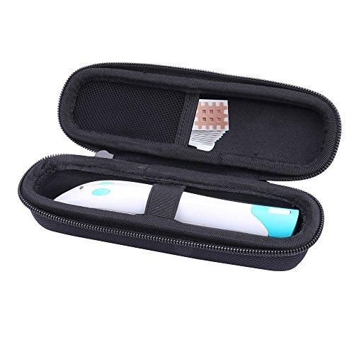 Bite Away Tasche, Hard Case Hülle für Bite Away Elektronischer Stichheiler von Aenllosi (Schwarz)