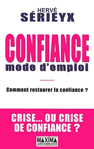 CONFIANCE MODE D'EMPLOI