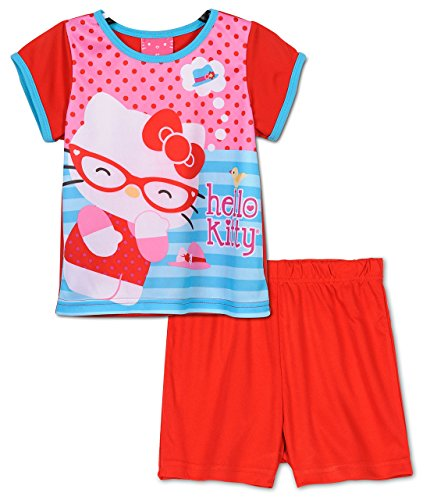 Hello Kitty - Ensemble de pyjama - Bébé (fille) 0 à 24 mois Rouge Rouge