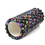 Tahera Yoga Foam Roller for deep Tissue Massage, Gym Exercise, Fitness, Trigger Point