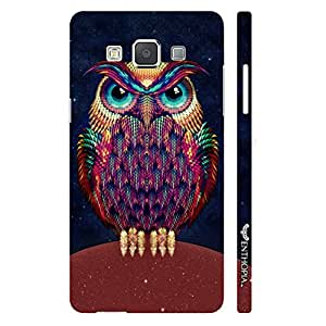 Samsung Galaxy E7 Angry Insomniac designer mobile hard shell case by Enthopia
