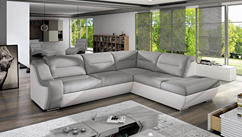 Sofa Couchgarnitur GALAXY C Polstergarnitur Couch Sofagarnitur Wohnlandschaft Schlaffunktion