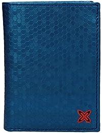 Cartera para Hombre Munich Party - Color: Azul (8,5 x 11,5 cm)