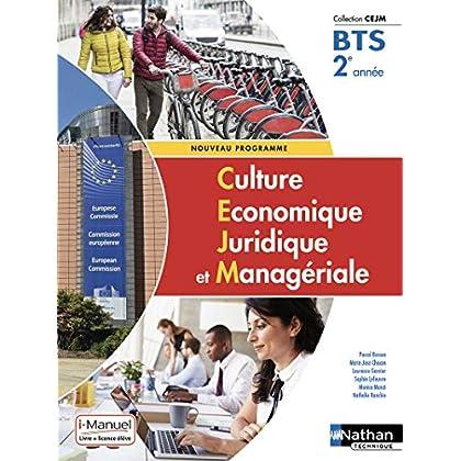 Culture Économique, Juridique et Managériale - 2e année BTS GPME, SAM, NDRC