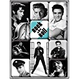 Nostalgic-Art 83041 Celebrities - The King - Magnet-Set (9-teilig)
