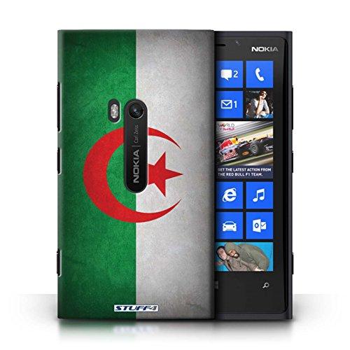Coque en plastique pour Nokia Lumia 920 Collection Drapeau - Suisse Algérie