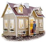 GREEN HOUSE - Spielhaus aus Holz für kinder PARIS
