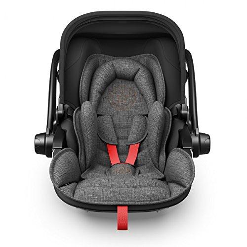 Preisvergleich Produktbild Kiddy Babyschale Evoluna i-Size 2 inkl. Isofix Base 2, 2018, Farbe:Hot Red