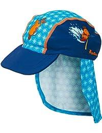 Playshoes Boy's UV Sun Protection Swim Cap, Sun Hat Surfing Mouse