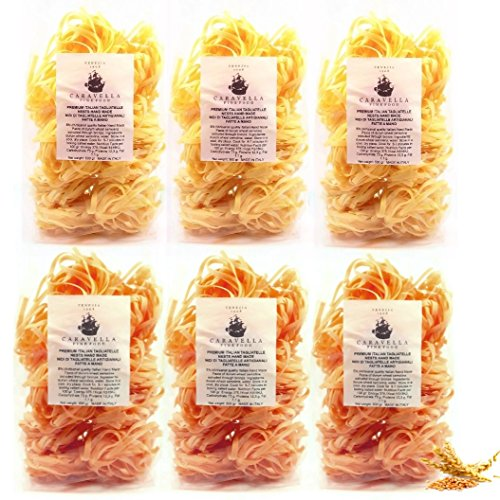 pack-of-6-save-on-shipping-cost-caravella-gourmet-3-of-premium-italian-wholegrain-tagliatelle-nests-