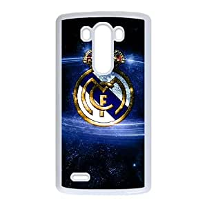 LG G3 Cell Phone Case White Real Madrid aako