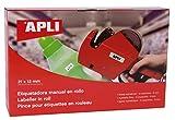 APLI 101418 - Máquina etiquetadora de 1 línea y 8 caracteres