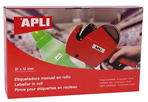 APLI 101418   Máquina etiquetadora de 1 línea y 8 caracteres