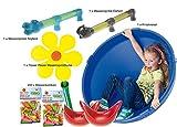 Unbekannt SportFit - 578-10 - Wasserspaß Set 206 - Sommer Set - Ausflugs Set - Ausflug ins Freie - Wasserspiele - Badespaß