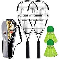 Akokie Tennisschläger Kinder Federball Set Badminton Racket