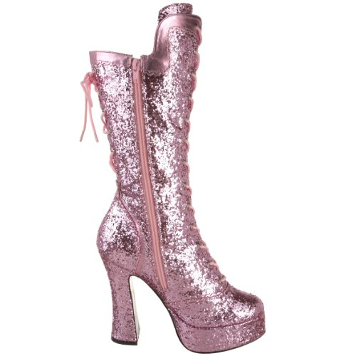InStyle-Stiefel Courtess-1025G by Bordello B. Pink Gltr