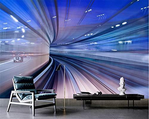 Zooyx 3d tapete Beibehang-Gewohnheitsstereoschattenbild- Kanal-Bar Ktv-Restaurant-Wohnzimmer-Fernsehsofa-Hintergrund -400Cmx280Cm