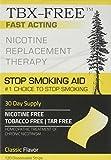 TBX-Free Smettere di fumare orale Strip soccorso 120 strisce Classic