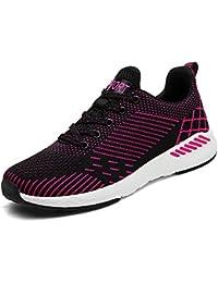 Easondea Zapatillas de Running par Ligero en Malla Transpirable Gimnasio andando Cross-Training Calzado Deportivo