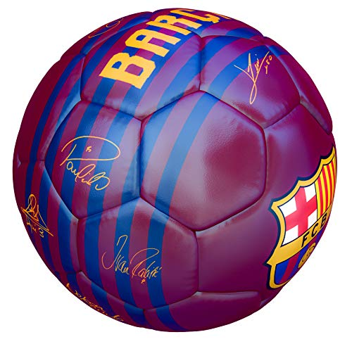 FCB Balon FC Barcelona Primera Equipacion 18 19 Rojo