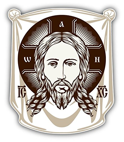 face-of-jesus-orthodox-church-icon-religion-art-decor-autocollant-10-x-12-cm