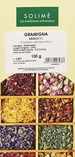 Gramigna rizomi per tisana o decotto - 100 g - Prodotto made in Italy.