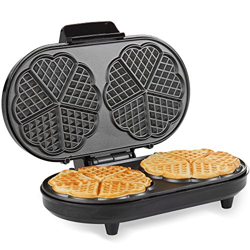 Andrew James Waffle Maker with A...